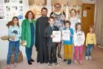 В Культурно-эстетическом центре прошла выставка работ воспитанников творческой студии «Сфера», посвященных светлому празднику Пасхи и Дню Победы.