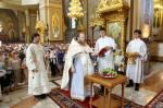 19 августа Угрешская обитель отметила престольный праздник - Преображение Господне, установленный в воспоминание о евангельском событии, произошедшем на горе Фавор.