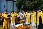 22 августа Николо–Угрешский монастырь отметил свой 635- летний день рождения. Праздничное богослужение в Спасо-Преображенском соборе возглавил наместник обители игумен Варфоломей