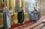 21 февраля была совершена первая великопостная Литургия Преждеосвященных Даров.
