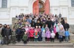 9 ноября в Николо-Угрешском монастыре прошла детская Литургия