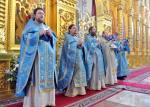 28 августа Николо-Угрешская обитель отметила свой престольный праздник -Успение Пресвятой Богородицы. В этот день ранняя Божественная литургия традиционно совершалась в самом древнем монастырском храме, освященном в честь Успения Пресвятой Богородицы