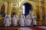 19 января в Николо-Угрешском монастыре состоялось торжественное празднование Крещения Господня.